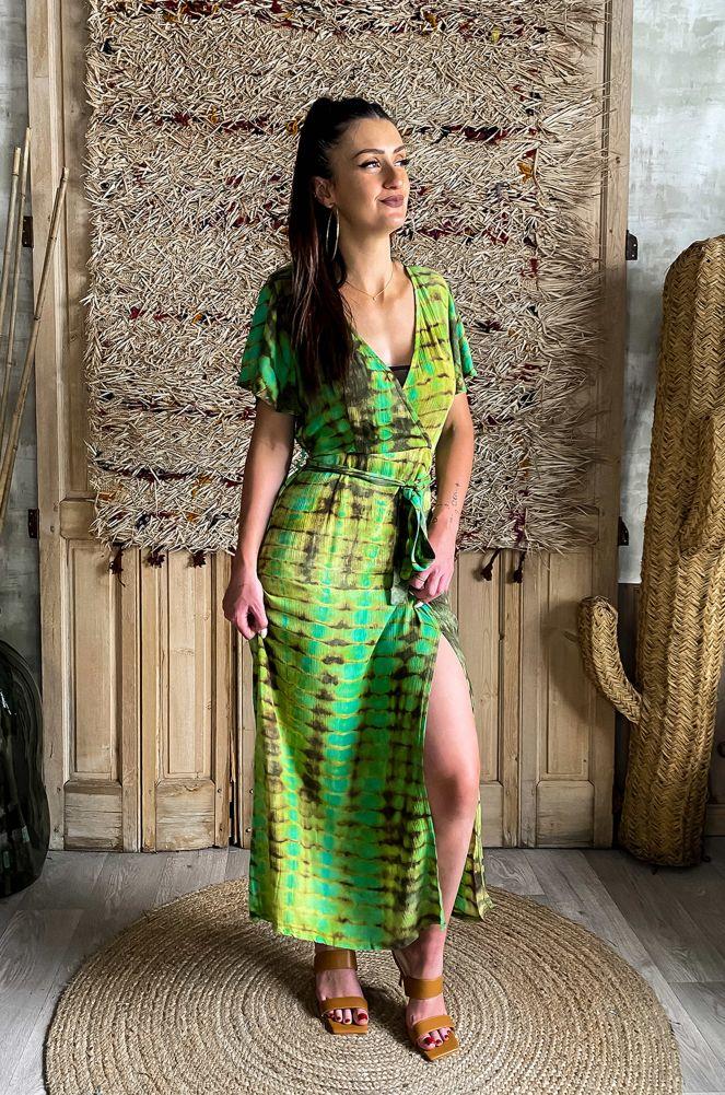 Robe Tie Dye Vert EMER