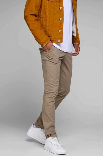 CHINO HOMME BEIGE MARCO LONG.34