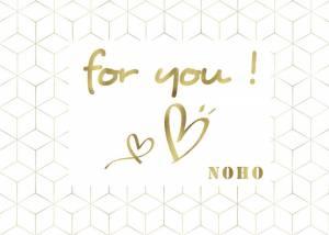 Bon cadeau Noho for U